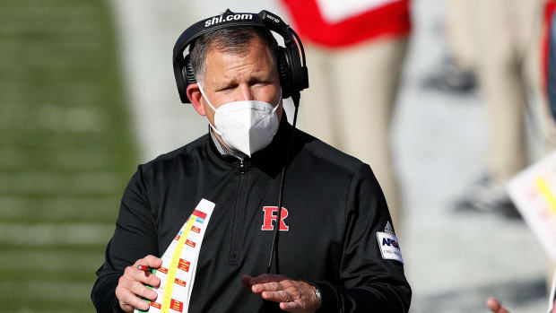 Rutgers head coach Greg Schiano