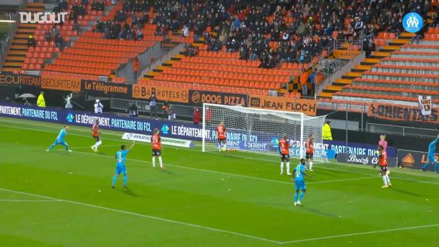 Balerdi's first goal with Olympique de Marseille