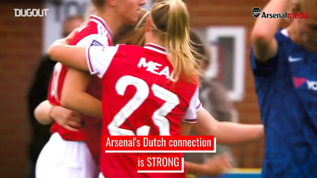Arsenal Women's Dutch connection