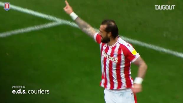 Potters defeat Brentford in five-goal thriller