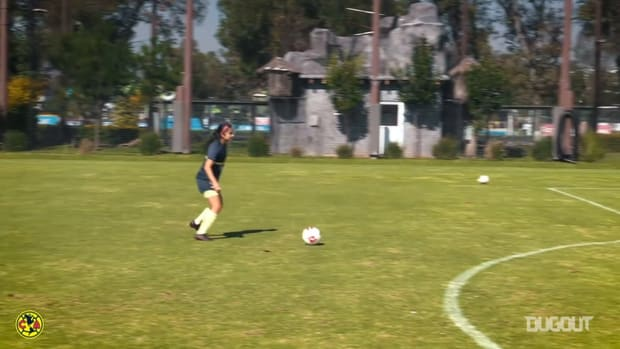 Club América Femenil's shooting challenge