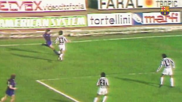 Los mejores goles del Barça contra la Juventus