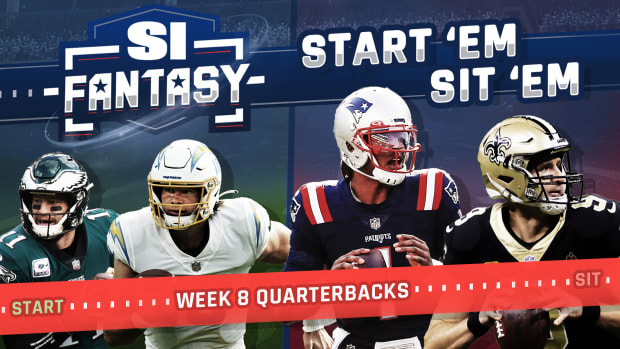 Fantasy Football Week 8 Start Em, Sit Em: Quarterbacks