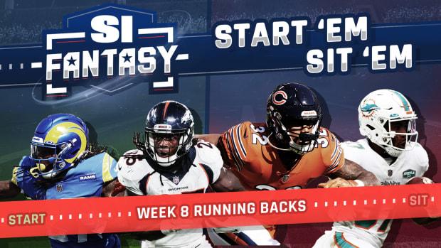 Fantasy Football Week 8 Start Em, Sit Em: Running Backs