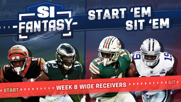Fantasy Football Week 8 Start Em, Sit Em: Wide Receivers