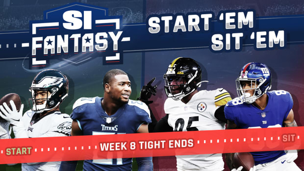 Fantasy Football Week 8 Start Em, Sit Em: Tight Ends