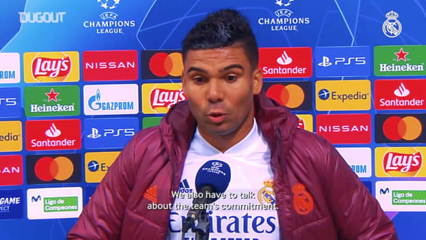 Casemiro: 'This crest teaches you never to give up'