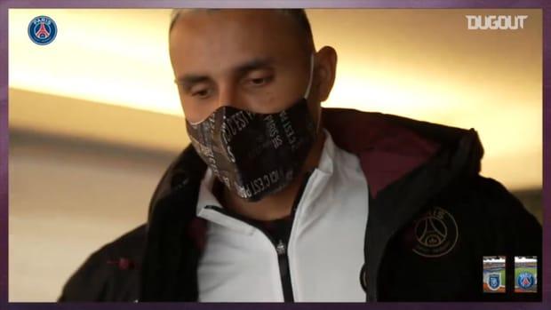 Paris Saint-Germain's player travel between Paris and Istanbul