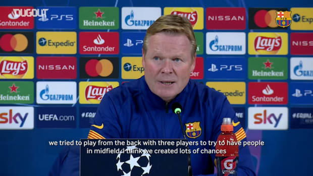 "Koeman ""It was the best game we have played so far"""