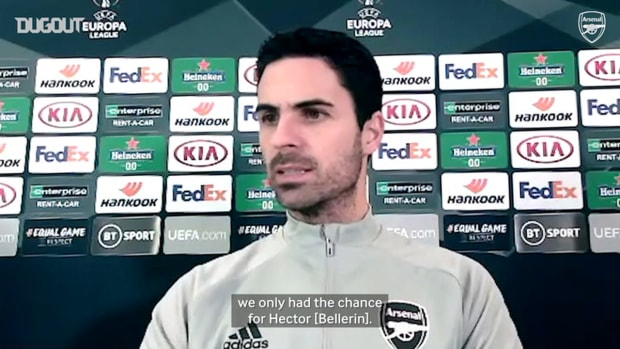 Arteta on lack of goals and injury concerns ahead of Dundalk clash
