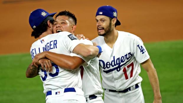 Dodgers Celebrate