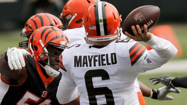 Browns Baker Mayfield Fantasy Football