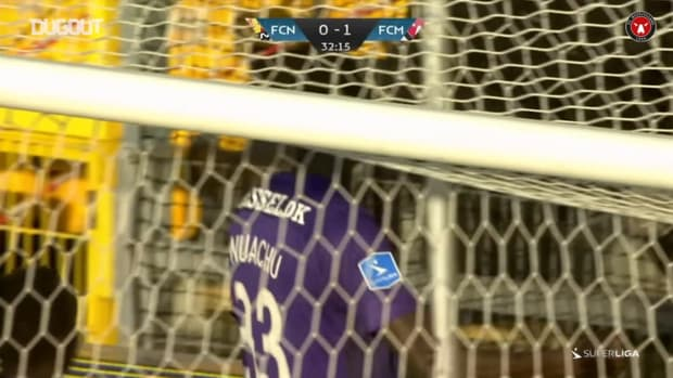Onuachu's hat-trick downs Nordsjælland