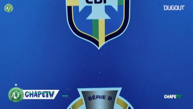 Behind the scenes of Chapecoense's draw vs CSA