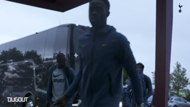 Behind the scenes: Spurs travel to Antwerp in Europa League
