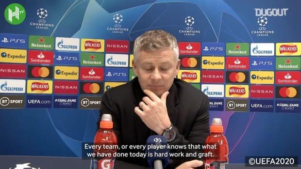 Solskjaer: 'Man Utd consistency is improving'