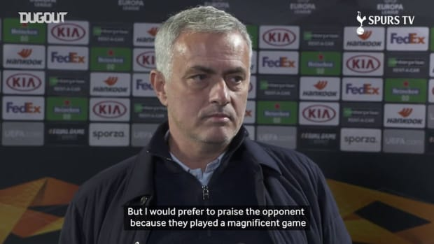 Mourinho: We only blame ourselves, and praise our opponent