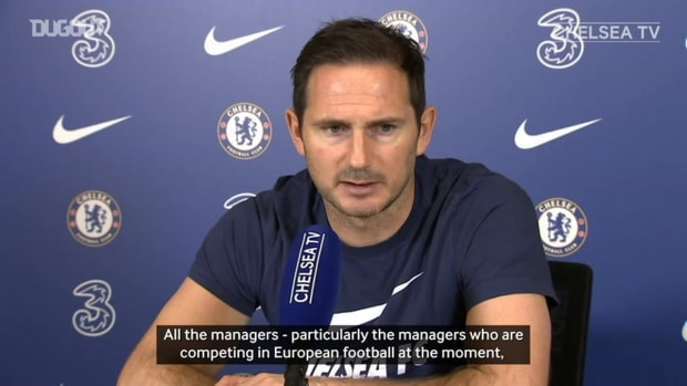 Lampard pledges to rotate Chelsea attacking options