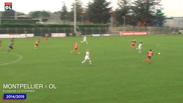 OL Women top five goals vs Montpellier