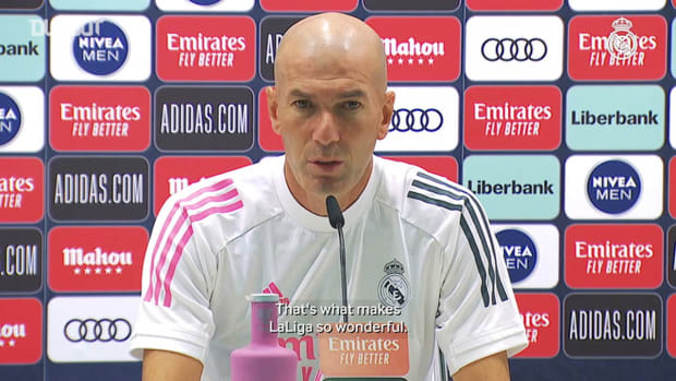 Zidane: 'There are no small teams in Spain'
