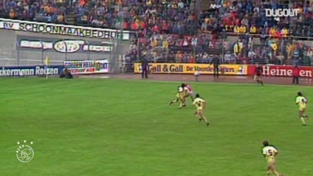 Marco van Basten's top five Ajax goals