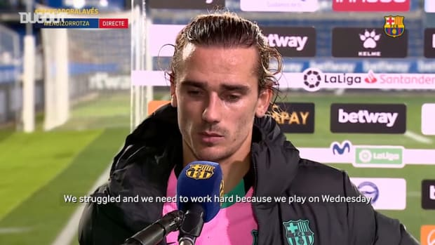 Griezmann: 'I was missing chances, the team needs my goals.'