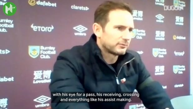 Lampard full of praise for Ziyech after Burnley display