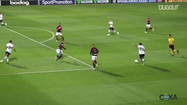 Coritiba beat Atlético-GO at Couto Pereira