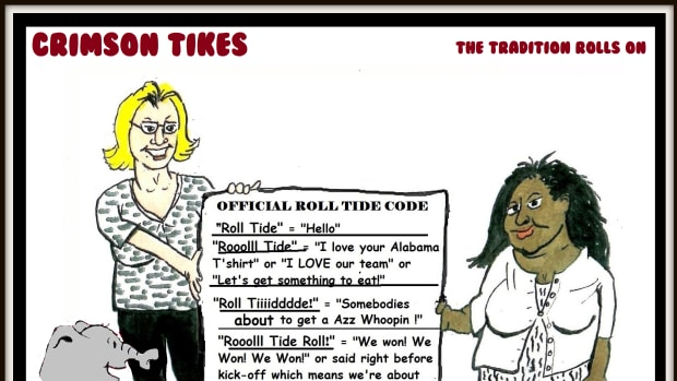 Crimson Tikes: Roll Tide Code