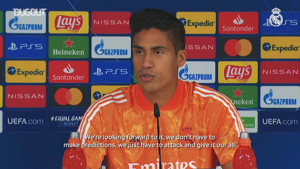 Varane: 'We raise our game in matches when we're under pressure'