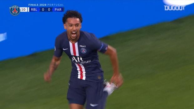 Paris Saint-Germain's win against Leipzig in the 2019-20 UCL semi-final