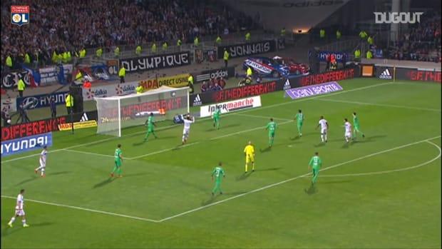 Olympique Lyonnais perfect win in the derby vs Saint-Etienne