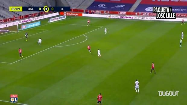 Lucas Paquetá's best moments vs Lille