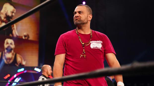 AEW's Eddie Kingston in the ring on Dynamite