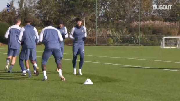 Spurs stars train before facing Ludogorets