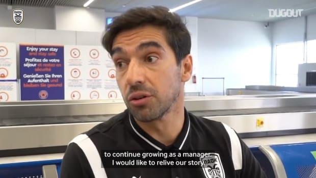 Abel Ferreira says farewell to PAOK