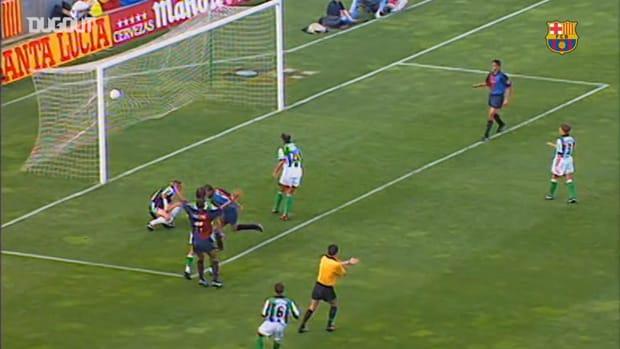 Barcelona thrash Betis 4-1 at Camp Nou