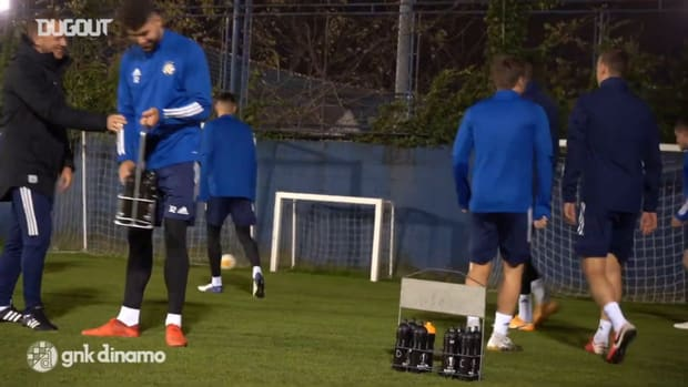 Dinamo continue preparations ahead of Wolfsberg