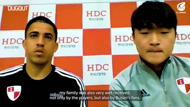 Dugout Exclusive: Rômulo talks Busan, picks favourite goal