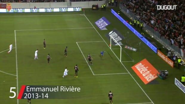 AS Monaco's top five goals vs Nice