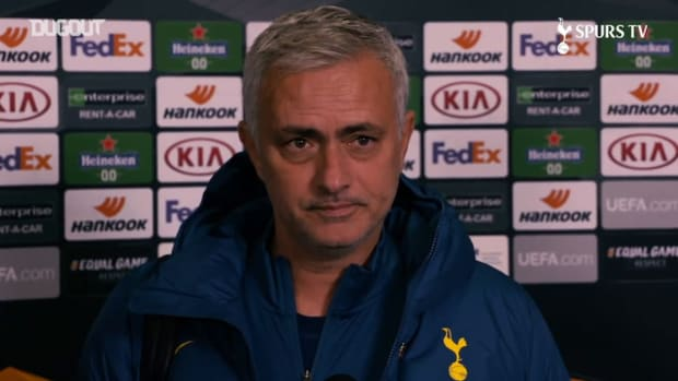 Mourinho: Kane's numbers speak for itself