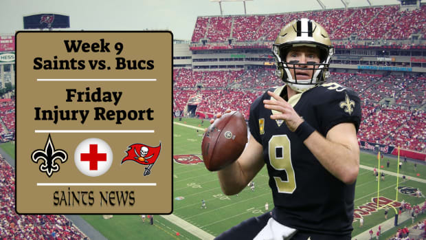 Saints Injury Report (23)