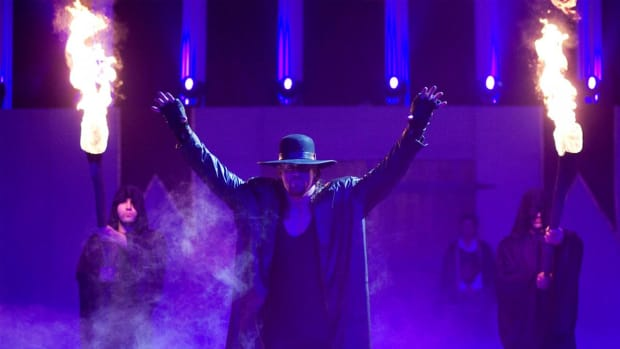 WWE's Undertaker makes his entrance