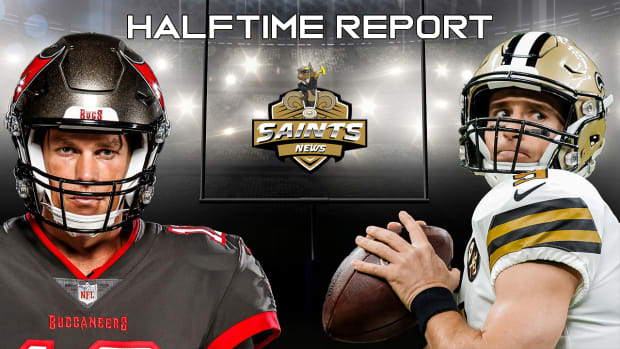 Halftime Reports - Bucs