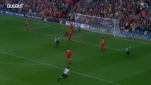 Wanchope helps Derby to famous win at Anfield