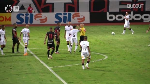Corinthians draw against Atlético-GO at Olímpico