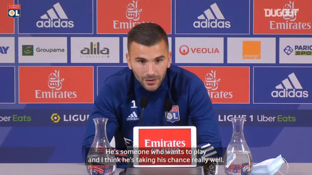 Anthony Lopes on Sinaly : He's someone who wants to play