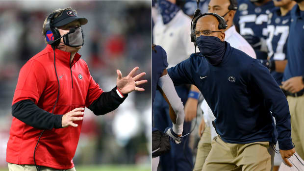 Kirby Smart and James Franklin