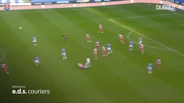 Jacob Brown nets first Stoke City goal