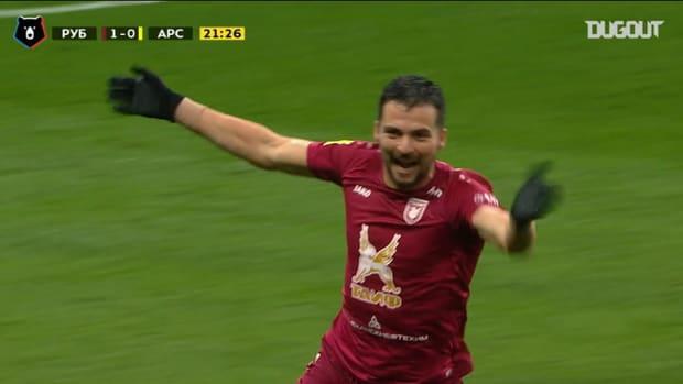 Best goals of week 13 in the Russian Premier League